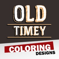 Old Timey Coloring Designs