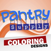 Pantry Supply Coloring Designs