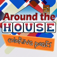 Around the House Coloring Pages