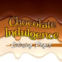 Chocolate Indulgence Coloring Pages