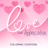 Love & Appreciation Coloring Coupons