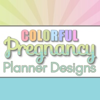 Colorful Pregnancy Planner Designs