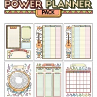 Colorful Power Planner Pack - Music