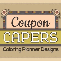Coupon Capers Coloring Planner Designs