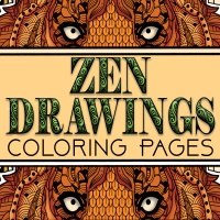 Zen Drawings Coloring Pages