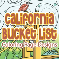 California Bucket List Coloring Pages
