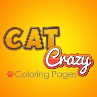 Cat Crazy Coloring Pages