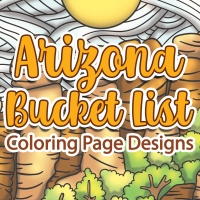 Arizona Bucket List Coloring Page Designs