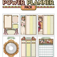 Colorful Power Planner Pack - Victorian