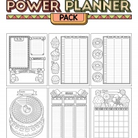 Power Planner Pack - Sweets