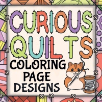Curious Quilts Coloring Designs