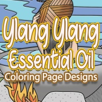 Ylang Ylang Essential Oil Coloring Pages