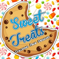 Sweet Treats Coloring Page Designs