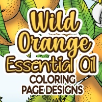 Wild Orange Essential Oil Coloring Pages