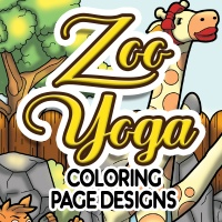 Zoo Yoga Coloring Pages