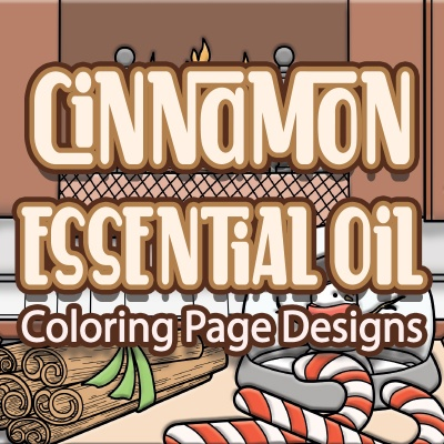 Cinnamon Essential Oil Coloring Pages