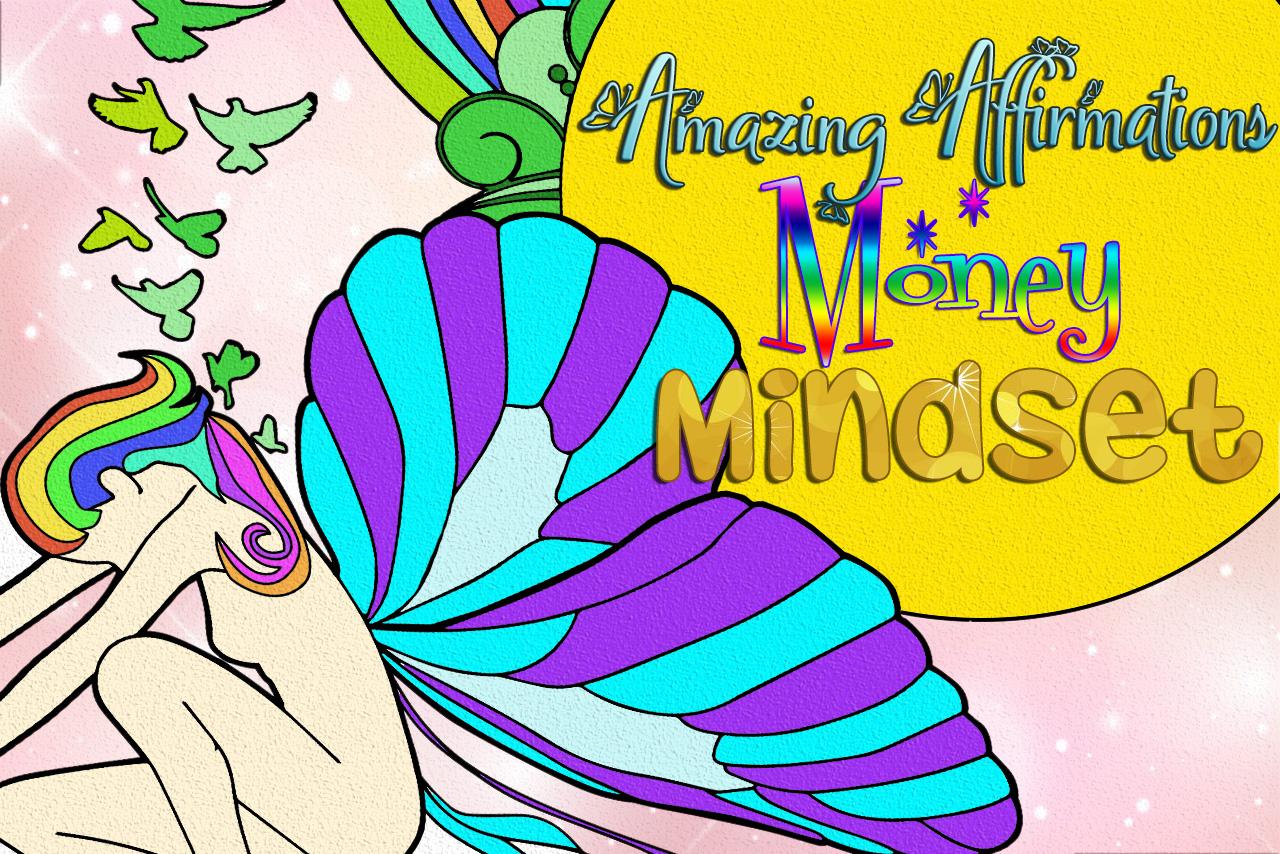 [提取码: mhc5]Amazing Affirmations – Money Mindset Coloring Pages